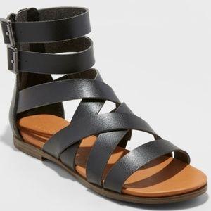 Rosalee Microsuede Gladiator Sandals
